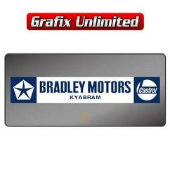 Dealership Decal, Bradley Motors Kyabram