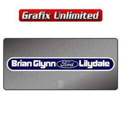 Dealership Decal, Brian Glynn Lilydale