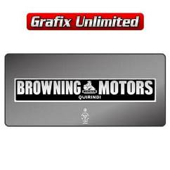 Dealership Decal, Browning Motors Quirindi