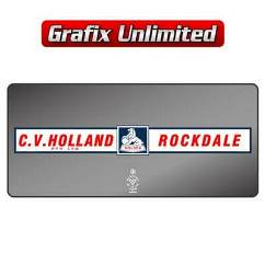 Dealership Decal, C.V. Holland Rockdale Pty Ltd