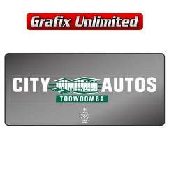 Dealership Decal, City Autos Toowoomba