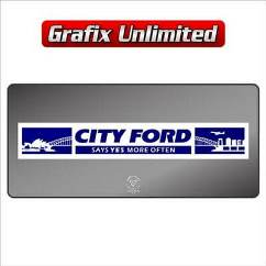 Dealership Decal, City Ford