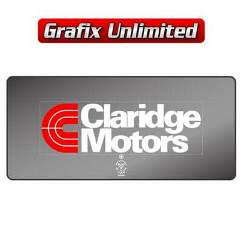 Dealership Decal, Claridge Motors