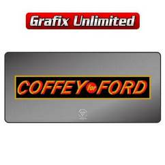 Dealership Decal, Coffey For Ford