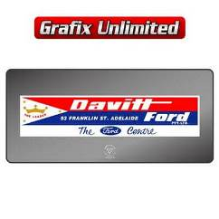 Dealership Decal, Davitt Ford