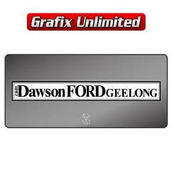 Dealership Decal, Dawson Ford