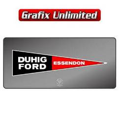 Dealership Decal, Duhig Ford