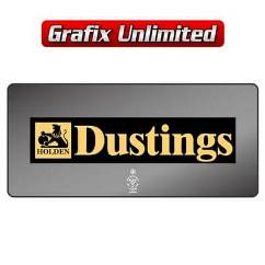 Dealership Decal, Dustings