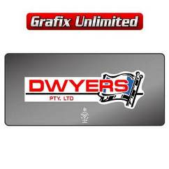 Dealership Decal, Dwyers Pty Ltd
