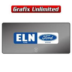 Dealership Decal, Eln Ford Wyong