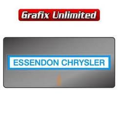 Dealership Decal, Essendon Chrysler