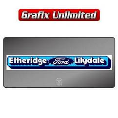 Dealership Decal, Etheridge Ford Lilydale