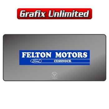 Dealership Decal, Felton Motors Cessnock