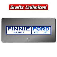 Dealership Decal, Finnie Ford