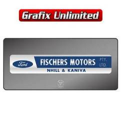 Dealership Decal, Fischers Motors