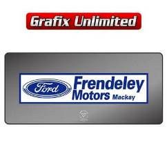 Dealership Decal, Frendeley Motors 1972 - 1978