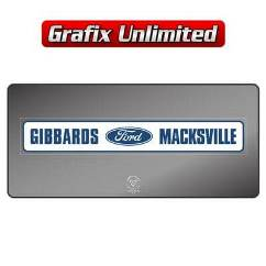 Dealership Decal, Gibbards Macksville