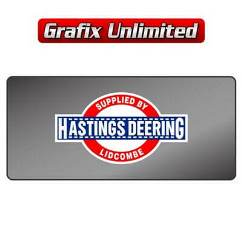 Dealership Decal, Hastings Deering