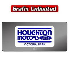 Dealership Decal, Houghton Motors