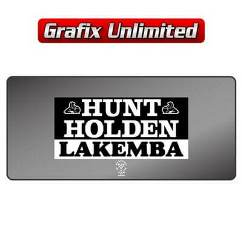 Dealership Decal, Hunt Holden Lakemba