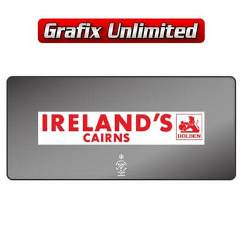 Dealership Decal, Irelands Cairns