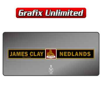 Dealership Decal, James Clay Motors Nedlands