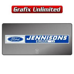Dealership Decal, Jennisons Burra S.A.