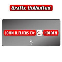 Dealership Decal, John H Ellers Pty Ltd