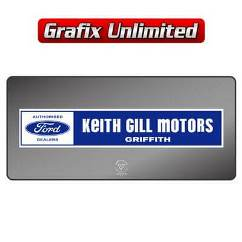 Dealership Decal, Keith Gill Motors