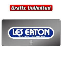 Dealership Decal, Les Eaton Canberra