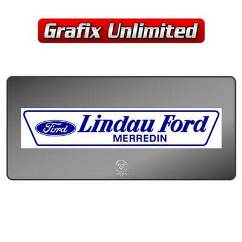 Dealership Decal, Lindau Ford