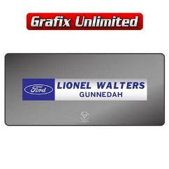 Dealership Decal, Lionel Walters Gunnedah