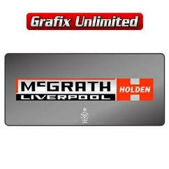 Dealership Decal, McGrath Holden Liverpool