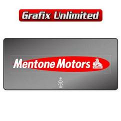 Dealership Decal, Mentone Motors