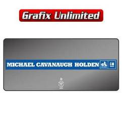 Dealership Decal, Michael Cavanaugh Holden