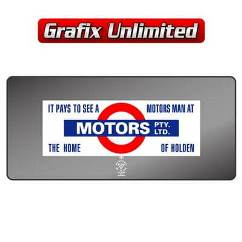 Dealership Decal, Motors