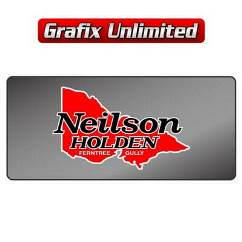 Dealership Decal, Neilson Holden Ferntree Gully
