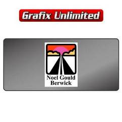 Dealership Decal, Noel Gould Berwick