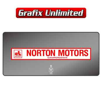 Dealership Decal, Norton Motors Camperdown