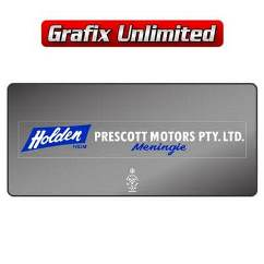 Dealership Decal, Prescott Motors