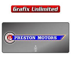 Dealership Decal, Preston Motors Melbourne