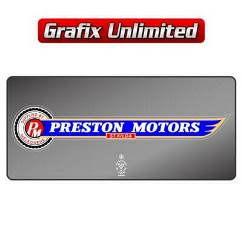 Dealership Decal, Preston Motors St.Kilda
