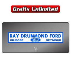 Dealership Decal, Ray Drummond Ford