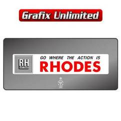 Dealership Decal, Rhodes