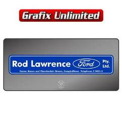 Dealership Decal, Rod Lawrence Ford