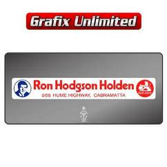 Dealership Decal, Ron Hodgson