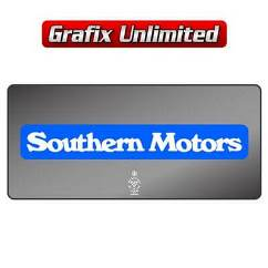 Dealership Decal, Southern Motors 1974 - 1977
