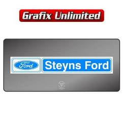 Dealership Decal, Steyns Ford