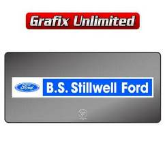 Dealership Decal, Stillwell Ford