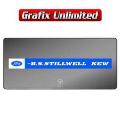 Dealership Decal, Stillwell Ford Kew